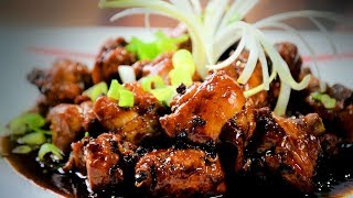 getlinkyoutube.com-Chinese Spicy Chicken (Asian, Chinese Spicy Chicken Recipe) With Honey