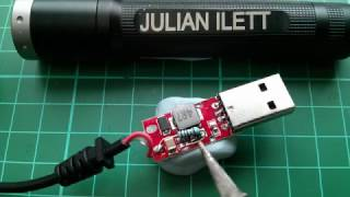 USB to 12V Step Up Cable - Conversion to 9V