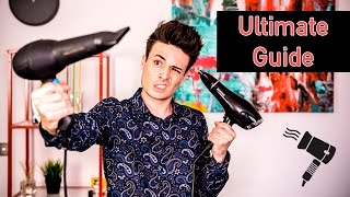 getlinkyoutube.com-Ultimate Guide to Using & Buying A Hair Dryer/Blow Dryer | Mens Hair Tips 2017