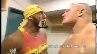 getlinkyoutube.com-Hulk Hogan vs Brock Lesnar segment