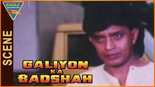 Galiyon Ka Badshah || Movie Mithun Chakraborty Powerfull Action With Villains || Raaj Kumar