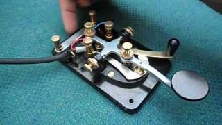 getlinkyoutube.com-Lionel J-38 CW Morse Key by YS1RS