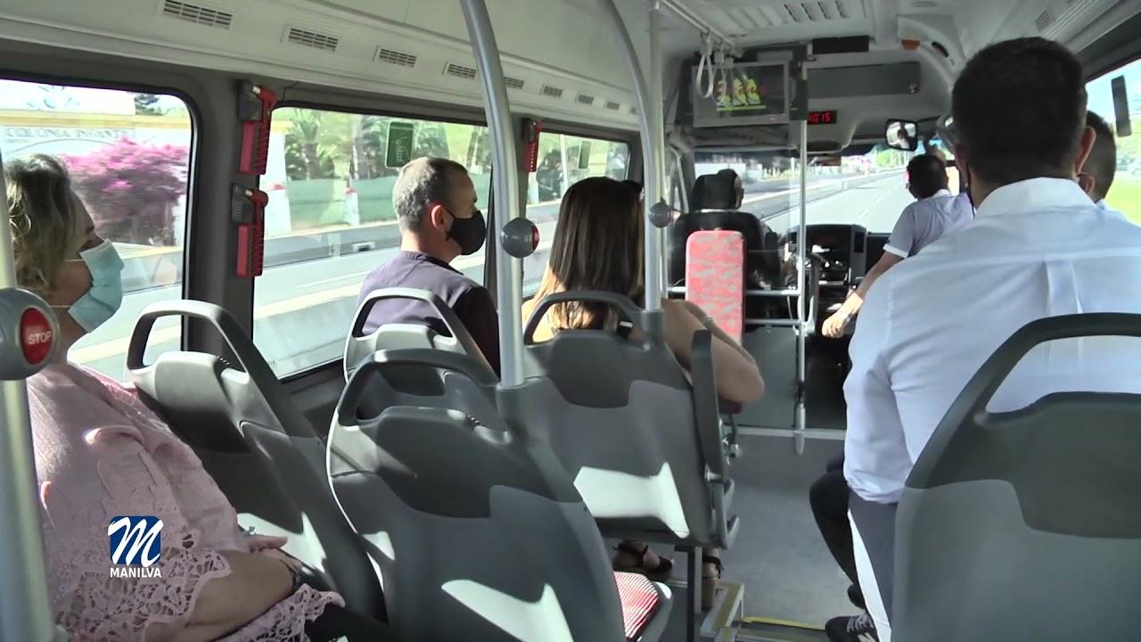 Recorrido y horarios del autobús urbano