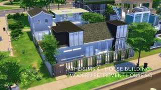 getlinkyoutube.com-The Sims 4 - House Building - Modern Retirement House SQ
