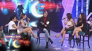getlinkyoutube.com-GGV: Angeline, KZ, Yeng, & Kyla sing each other's hit songs