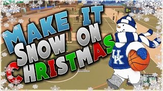 getlinkyoutube.com-2K MAKE IT SNOW FOR CHRISTMAS!! I WANNA SEE SOMEBODY BRAKE THERE LEGS CAUSE THEY SLIPPED ON SOME ICE
