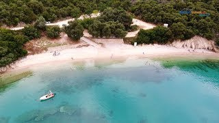 Beach of St Giannakis  flight (near Parga)