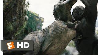 getlinkyoutube.com-King Kong (4/10) Movie CLIP - Kong Rescues Ann (2005) HD