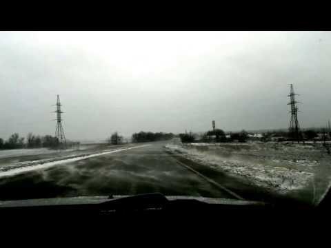 Снегопад 12марта 2013 Шевроле Эпика