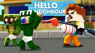 getlinkyoutube.com-Minecraft Baby Hello Neighbour - THE NEIGHBOUR KIDNAPPED RAMONA!?