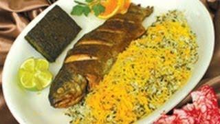 getlinkyoutube.com-Sabzi Polo Mahi    سبزی پلو ماهی