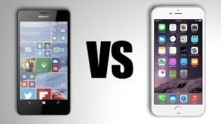 Lumia 950 Vs. iPhone 6S