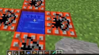 getlinkyoutube.com-как сделать мини ракету в Minecraft