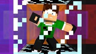 getlinkyoutube.com-FUI PRESO NO CUBO !! - Minecraft Desafios