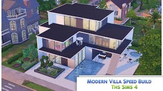 The Sims 4 Speed Build 'Modern Villa'