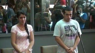 27/01/2016 - Sentencian a 20 años de prisión a Marco Arenas y Fernanda Lora