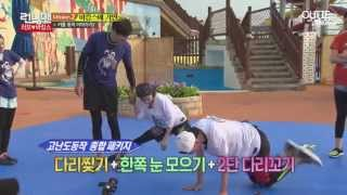 getlinkyoutube.com-Jihyo and Sangwoo Moment in Running Man ep.253