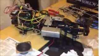 getlinkyoutube.com-Rc Mercedes Actros build part 6 (test)