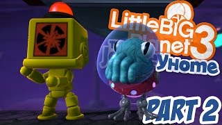 getlinkyoutube.com-LittleBigPlanet 3 - The Journey Home 100% Walkthrough Part 2 - The Flight Shift - LBP3 PS4