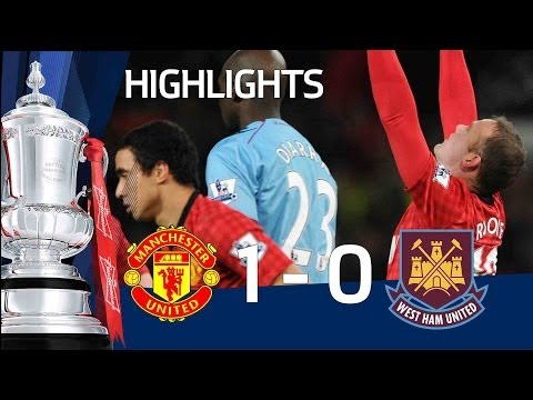 Manchester United 1-0 West Ham | The FA Cup 3rd Round Replay 2013