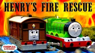 getlinkyoutube.com-Thomas & Friends: Flaming Forests | Henry's Fire Rescue Episode #1 | Thomas & Friends
