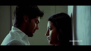 getlinkyoutube.com-Kiss Scene Between Trisha & Arya || Sarvam Movie || Trisha