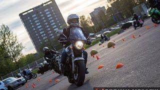 getlinkyoutube.com-Джимхана или чему не учат в мотошколе
