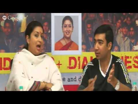 India272+ Dialogues with Smt Smriti Irani