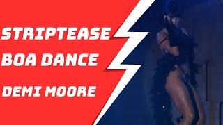 Demi Moore Sexy Boa Striptease Dance 1080P HD width=