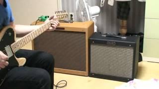 getlinkyoutube.com-fender 57 twin amp & fender blues jr (amp sound test)