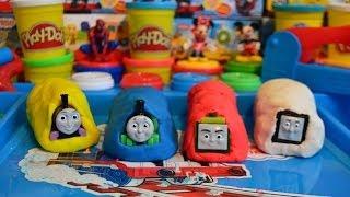 getlinkyoutube.com-Play-Doh Thomas And Friends Surprise Eggs Trains Percy Thomas The Tank Engine Mavis James 托马斯&朋友