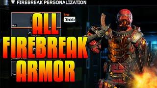 "getlinkyoutube.com-Black Ops 3 - ALL COMPLETED ""FIREBREAK"" GEAR SETS - (All Specialists Gear Sets Showcase #2)"