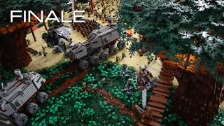 getlinkyoutube.com-Building Kashyyyk in LEGO - The FINALE