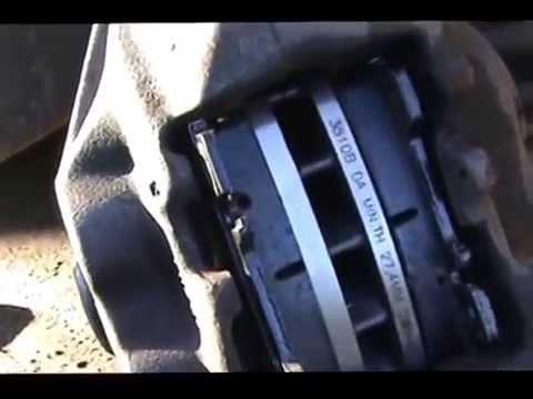 Замена тормозных дисков и колодок на M.B. W-140)