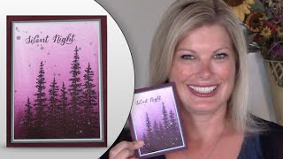 getlinkyoutube.com-How to make Silver Glitter Splatters and Brayer Tips featuring Stampin Up