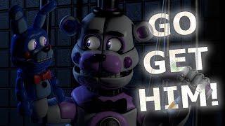 getlinkyoutube.com-[C4D FNaF] BON BON, GO GET HIM! | Animation Short