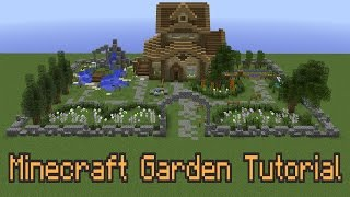 getlinkyoutube.com-How To Improve Your Minecraft Garden!