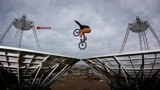 BMX riding on Satellite Dishes – Vasya Lukyanenko 2012