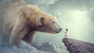 getlinkyoutube.com-Big Bear - Photoshop Manipulation Tutorial