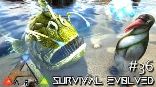 getlinkyoutube.com-ARK: Survival Evolved -NEW UPDATE TAMING  KAIRUKU & ANGLER FISH!!!  [Ep 36] (Server Gameplay)