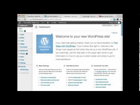 Setting Up Categories On WordPress - Create a Website