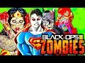 JUSTICE LEAGUE ZOMBIES! | Full Easter Egg! | Call of Duty Zombies | Black Ops 3 Custom Mod