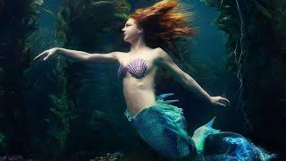 getlinkyoutube.com-Beautiful Catalina Mermaid Swimming in Her Merbella Studios Tail