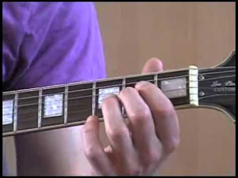 Foxy lady jimi hendrix rhythm guitar lesson