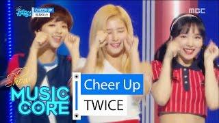 getlinkyoutube.com-[Comeback stage] TWICE - CHEER UP, 트와이스 - CHEER UP Show Music core 20160430