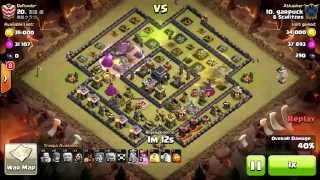 TH9 version of common TH10 Square base 3 Starred