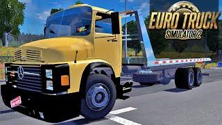 getlinkyoutube.com-Guincho Mercedes Benz - Euro Truck Simulator 2
