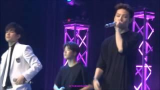 getlinkyoutube.com-[FANCAM] 151128 GOT7 1st Fanmeeting in Jakarta - 너란 걸 (Magnetic) JB & Junior Focus