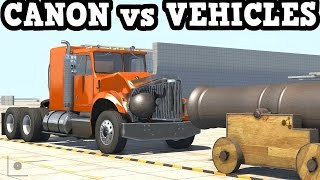 getlinkyoutube.com-BeamNG Drive 0.4.2.1 - Canon vs Vehicles Test