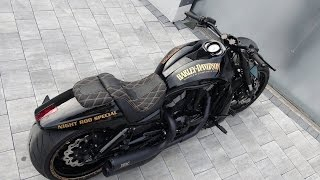 "getlinkyoutube.com-Harley-Davidson Night Rod ""300 Original"" by Bad Boy Customs"